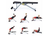 York Fitness 13 in 1 Dumbbell Bench Adjustable Flat & Multiple Incline/Decline