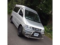 MAZDA BONGO/FORD FREDA 2.5 TD 4WD DAY CAMPER VAN/BRAND NEW KITCHEN UNIT/TABLE/MAIN HOOK UP