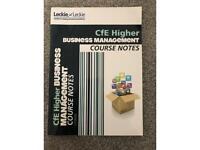 Higher Business Management Textbook