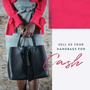 WE BUY YOUR GENTLY USED CLOTHING, SHOES, HANDBAGS AND ACCESSORIES