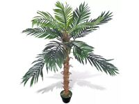Artificial Plant Coconut Palm Tree with Pot 140 cm-241357