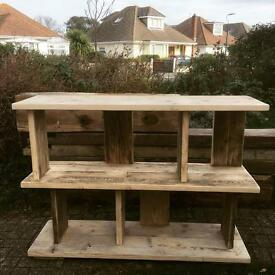 Reclaimed wood tables and more