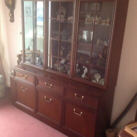 Side board and display cabinet
