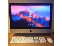 "Apple iMac Late 2012 21.5"" 2.7 GHz Quad Core Intel i5 8GB 1TB HDD Sierra & Windows 10 & Office 2016"