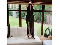 Missguided Playsuit Size 6 Black