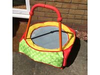 Small toddler trampoline