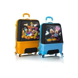 "Heys Disney Clubhouse Hybrid Spinner Luggage Set for Kids 2 Pcs - 30"", 26"""