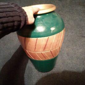 beautiful new-like terracotta vase