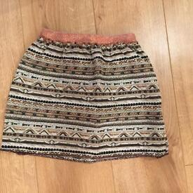 Girls zara skirt size 7-8