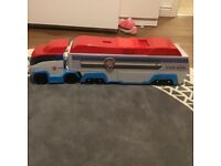 Paw Patrol Lorry and Vehicles