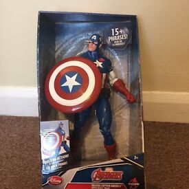 Talking Captain America Toy