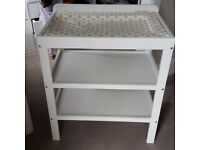 John Lewis baby changer table. Good condition