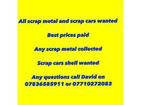 07710272083 Scrap metal wanted