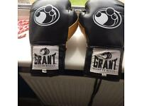 Grant boxing gloves
