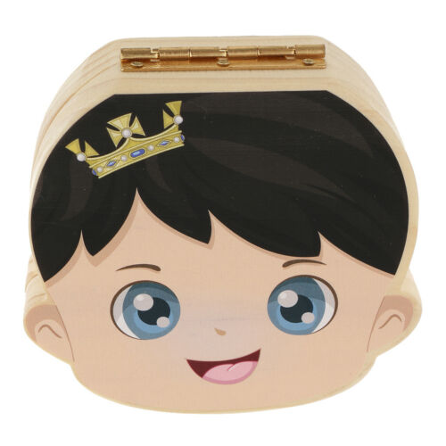 как выглядит Детская шкатулка Wooden My First Tooth Curl Box Hair Save Lanugo Milk Tooth Box Tooth Album фото