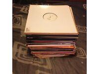 "Rare vinyl . 82x discs, 80x are 12"" eps or singles, unplayed/mint, house, garage, techno, etc"