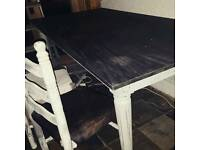 Shabby Chic / Vintage Table and chairs