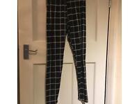 Black & White Stripe Super Soft Leggings