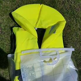 Childs Seapro new in bag life jacket