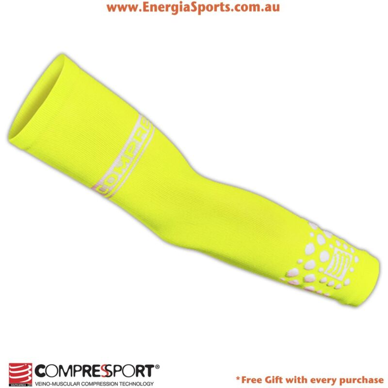 Compressport Fluo Arm Sleeve comes in different colours