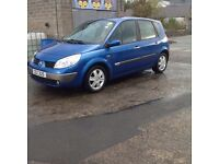 2005 RENAULT SCENIC 1.6, TRADE IN TO CLEAR CHEAP