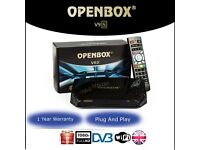 Openbox V9s with 12 months service warranty Plug&play openbox sKYBox v5s v8s f5s f5 f3s f3
