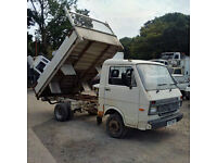 Volkswagen LT35 6 tyres 3.5 Ton tipper. 6 cylinder. MOT till 2018. On springs suspension.