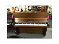 Welmar mahogany upright piano