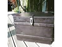 Victorian iron box