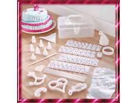 100 piece cake decorating set