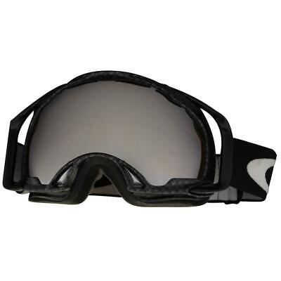 Oakley 01-808 Splice True Carbon Fiber Black Iridium Mens Snow Ski Goggles (Oakley Carbon Fiber Goggles)