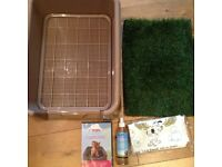 Dog/puppy litter tray for all your dogs toilet needs.