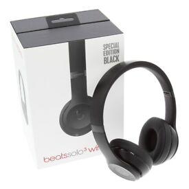New genuine matt black beats solo 3 wireless headphones