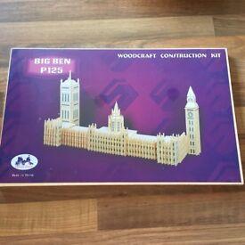 Big Ben wooden construction kit