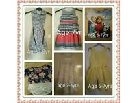 Selwction of Girls clothes