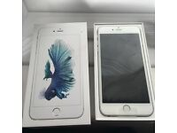 iPhone 6s Plus 128gb silver brand new just opened box
