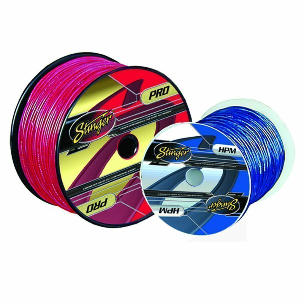 STINGER SPRO10R2- 10g RED POWER CABLE - 250 ft DRUM