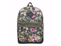 Fashion Versatile School Bag , Stylish Teenager Student School Backpack with Durable PU Leather