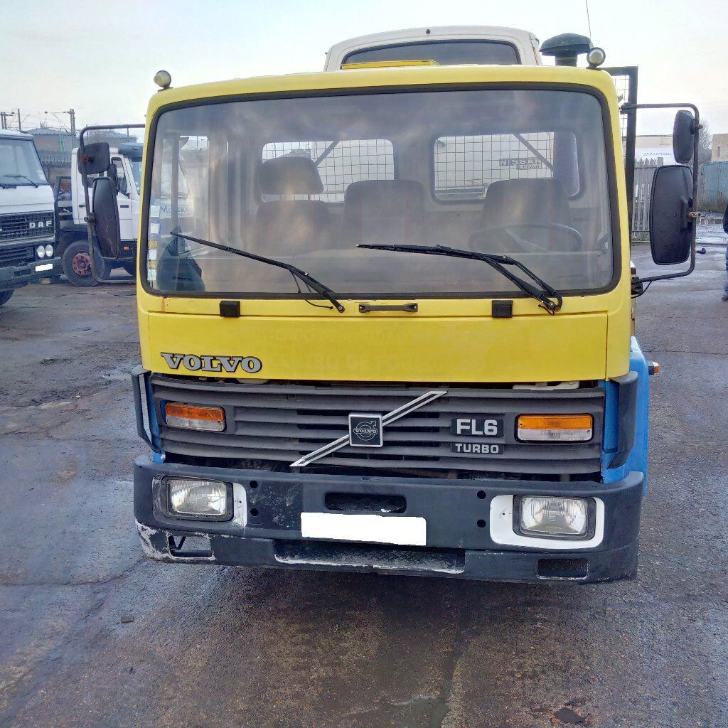 Left hand drive Volvo FL614 TURBO 14 Ton truck. Manual injector pump.