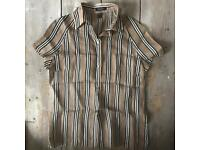 Vintage Burberry Silk Shirt