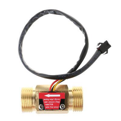 Water Flow Sensor G34 Hall Flowmeter Switch Dn20 1-30lmin Liquid Flow Meter