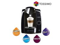 BRAND NEW - TASSIMO by BOSCH JOY TAS4502GB HOT DRINKS MACHINE - SEALED BOX - COST £119 - ACCEPT £45