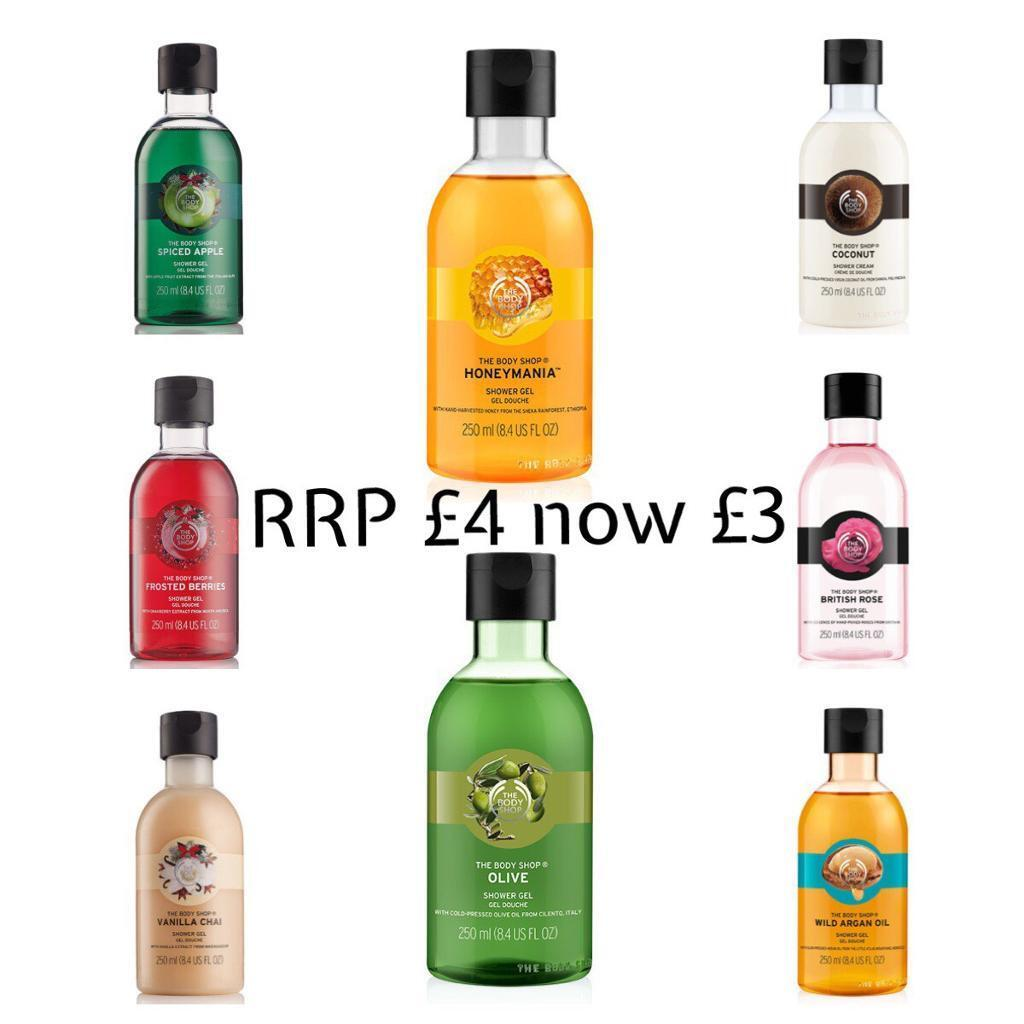 Body shop clearance salein Luton, BedfordshireGumtree - I have awesome offers available from home!!! December was a crazy time for amazing deals I stocked up so my customers can enjoy 30 40 50% all year round!! To visit my In house shop drop me a message today!! Over 100 of products to chose from price...
