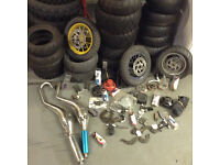 PIT BIKE PARTS AND TYRES