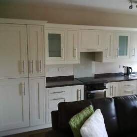 Fully furnished ,Modern one bedroom flat .