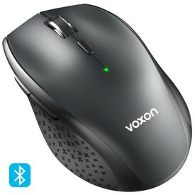 NEW: VOXON 3000DPI Bluetooth Wireless Mouse, 24 Month Battery Life With Battery Indicator