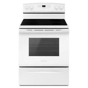 30-Inch Amana® YAER6603SFW Electric Range With Self-Clean Option (BD-1623)