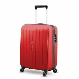 New Medium Red Suitcase 65cm Carlton Brand