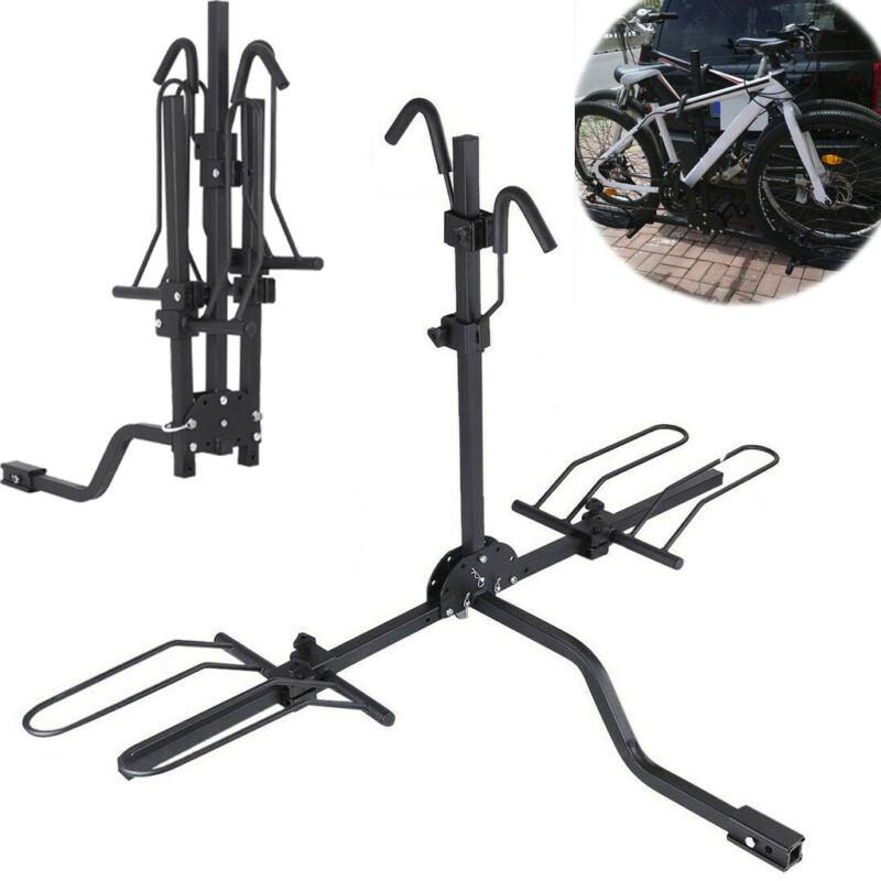 Goplus 2-Bike Hitch Mount Rack Hitch Mounted Bike Carrier Fo