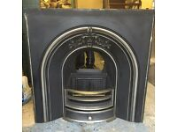 Fireplace - Mixed Fuel OR Electric (Cast Iron) (Fantastic Condition)